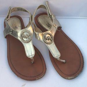 Michael Kors kids size 3 sandals
